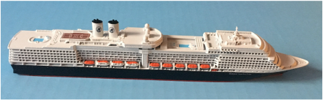Eurodam, Nieuw Amsterdam cruise ship models Holland America LinePicture