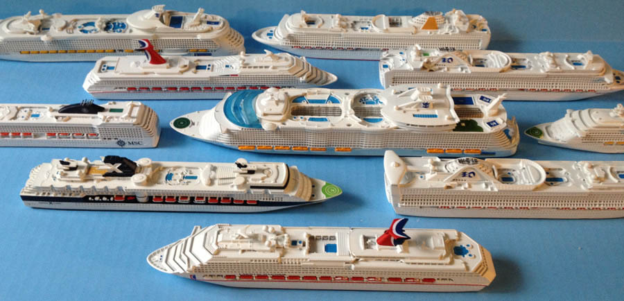 Souvenir Series Cruise Ship Models 1 1250 Scale By