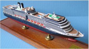 Display Series cruise ship models 1:900 scale
