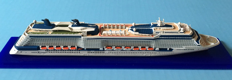 Celebrity Solstice cruise  ship model Picture