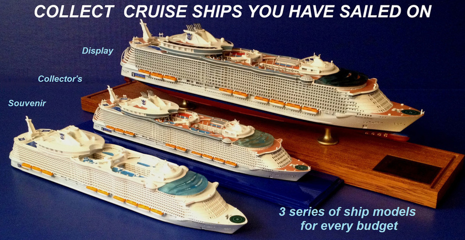 3 series of cruise ship models by  Scherbak Picture