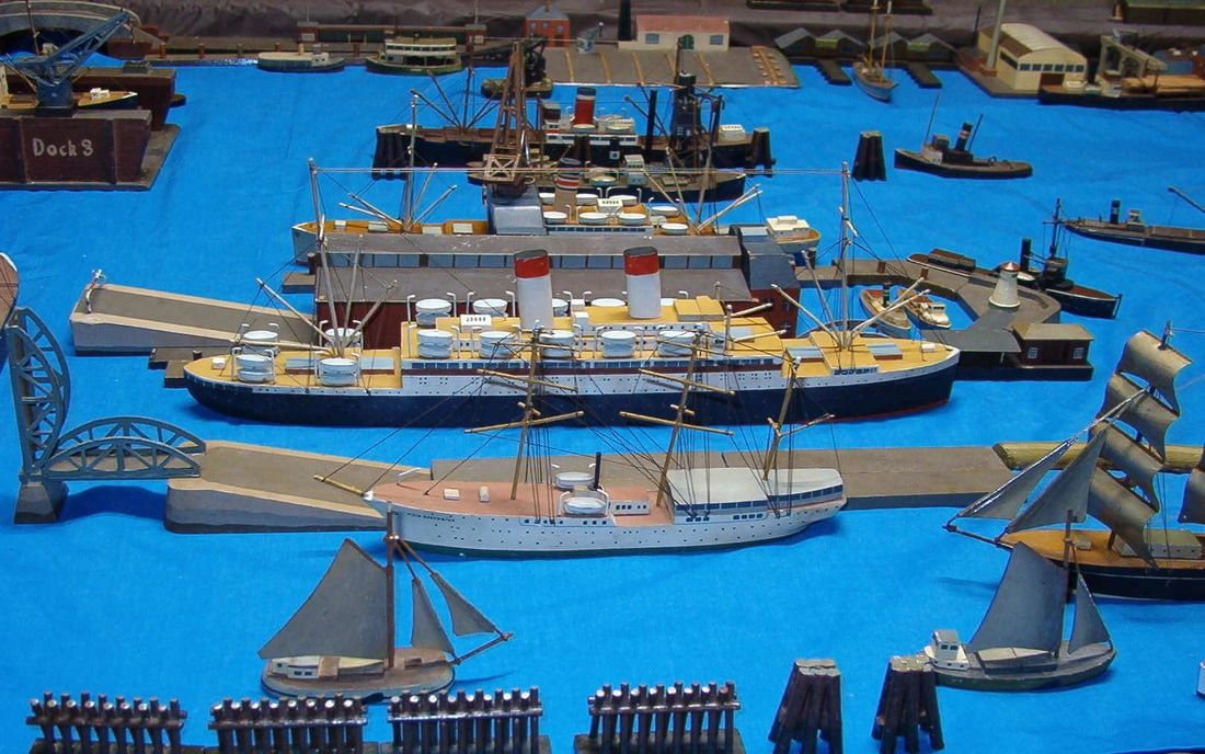 Köster atique  waterline ship models