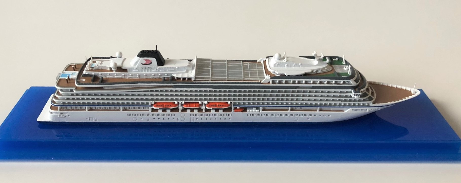 Viking Star cruise ship model. Viking Ocean Cruises Picture